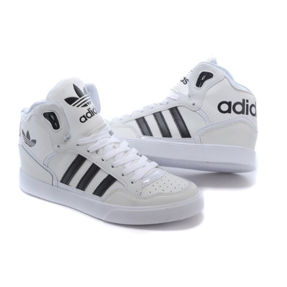 Adidas High Top Trainers Mens