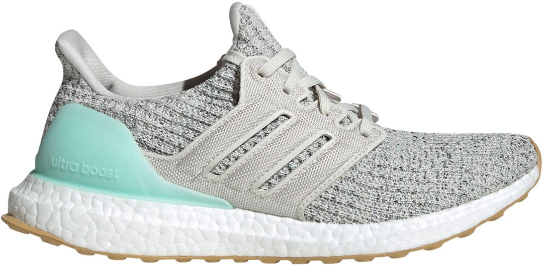 Nice Womens Adidas Energy Boost Running Shoes White Grey